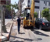 حملات نظافة دورية بمحافظة بالمنيا