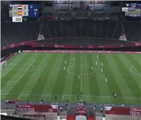 طوكيو 2020| 15 دقيقة .. التعادل السلبى يسيطر بين مصر إسبانيا