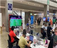 المركز الإعلامي لأولمبياد طوكيو يبث مباراة منتخب مصر على شاشات العرض