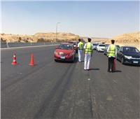 «أكمنة المرور» ترصد 2548 مخالفة على الطرق السريعة