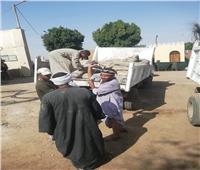 إزالة ١٦ حالة تعد على حرم النيل والأرض الزراعية بمراكز سوهاج