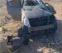 مصرع وإصابة ٦ شبان في انقلاب سيارة بالطريق الدولي الساحلي بإدكو