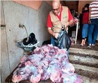 محافظ أسوان: مبادرة «الناس لبعضهم» توزع 4500 شنطة مواد غذائية