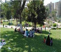 إقبال كبير على الحدائق والمتنزهات لقضاء إجازة العيد بالشرقية