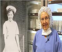 بعد 70 سنة خدمة.. أكبر ممرضة أميركية تتقاعد