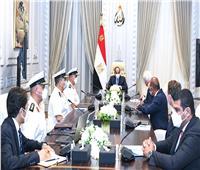 السيسي يستقبل مالك ورئيس مجلس إدارة مجموعات شركات لورسن الألمانية العالمية للصناعات البحرية