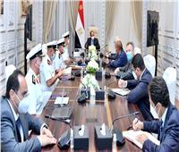 السيسي يستقبل مالك ومدير مجموعة شركات دونيل البلجيكية للأعمال والهندسة البحرية والتكريك