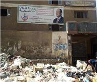 القمامه تغلق مدخل مركز شباب طنطا.. والأهالي يستغيثون بمحافظ الغربية