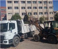 رفع 395 طن مخلفات وقمامة بحي ثالث الإسماعيلية