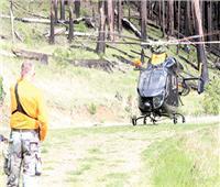 بطائرة هيلكوبتر.. إنقاذ أمريكي تائه في غابات ولاية أوريجون الأمريكية