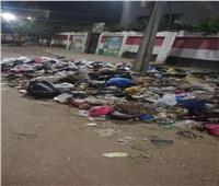 القمامة تحاصر مدارس السلام في زفتىبالغربية