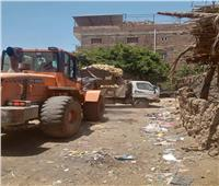 استمرار حملات النظافة بالقرى والأحياء في المنيا