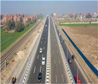 سيولة مرورية على الطريق الرئيسية بمحاور وميادين القليوبية