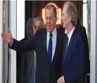لافروف وبيدرسن يبحثان تفعيل الجهود الدولية لتسوية الأزمة السورية سياسيا