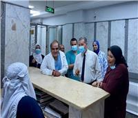 مدير مستشفيات مطروح يتابع توافر الأدوية وانتظام العمل