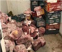 مصادرة 48 طن لحوم وسلع فاسدة قبل طرحها بالأسواق خلال العيد