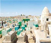 إقبال كبير من أهالي المنيا علي مقابر آل البيت بالبهنسا