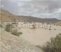 خريطة بمواقع السدود والبحيرات الصناعية لحجز مياه السيول بمنطقة وسط سيناء