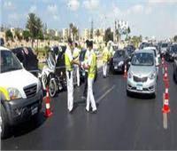 حملات مرورية على مواقف السيارات بالمنيا لمنع ارتفاع تعريفة الركوب