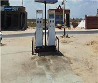 حملات مكثفة على محطات الوقود بالشرقية لمنع التلاعب في أسعار المواد البترولية