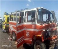 النيابة العامة تباشر التحقيقات في أسباب حادث تصادم أتوبيسين بالأسكندرية