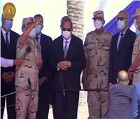 الرئيس السيسى عن محور التنمية بالإسكندرية: محدش كان بيعمل كده على مدار 100 سنة