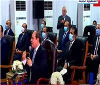الرئيس السيسي: «الحاجة اللي ما أعرفهاش بسأل المتخصصين فيها»