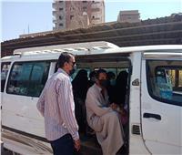 محافظ المنيا: انتظام سير العمل بمواقف السيارات ولا زيادة في تعريفة الركوب