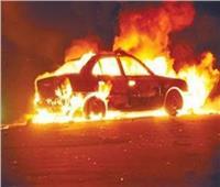 مصرع 3 أشخاص بعد تفحم سياراتهم بالإسماعيلية