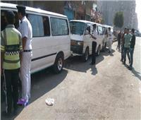 شرطة سرية لمتابعة مواقف الأجرة بالمنيا بعد زيادة أسعار الوقود