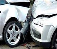 إصابة 3 أشخاص في حادث تصادم بالطريق الساحلي بمطروح