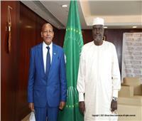 رئيس الاتحاد الأفريقي يؤكد علي «حل الدولتين» خلال لقائه السفير الإسرائيلي