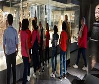 متحف كفر الشيخ أستقبل الزوار طوال أيام العيد