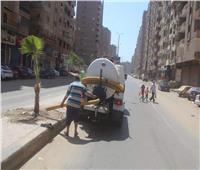 رفع 8 آلاف طن مخلفات في رابع أيام عيد الأضحى بالجيزة