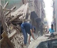 انهيار منزل مكون من طابقين دون إصابات في قنا