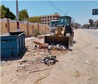 محافظ أسيوط : حملات مستمرة للنظافة ورفع المخلفات بالقرى والمراكز