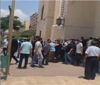 بدء جنازة زوجة الدكتور «محمد عوض تاج الدين» مستشار الرئيس للشؤون الصحية | فيديو