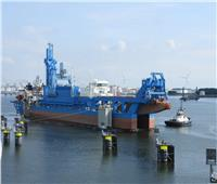 الكراكة «حسين طنطاوي» تغادر هولندا في طريقها لمصر لتنضم لأسطول قناة السويس
