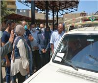 نائب محافظ سوهاج يتابعمواقف السيارات والتزام السائقين بتعريفة الركوب
