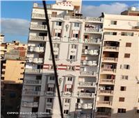 شاهد | ميل عقار مكون من 17 طابقا في الإسكندرية