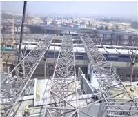 أول فيديو جوي للقطار الكهربائي.. ونسبة التنفيذ 91%