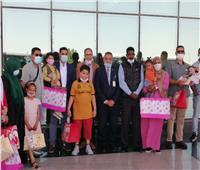 مطار أسيوط الدولى يستقبل 30 طفلاً ليبيًا للعلاج بمستشفيات الجامعة