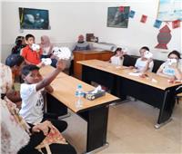 المتحف القومي بالإسكندرية يحتفل بالعيد بورش للأطفال ذوي احتياجات |الصور