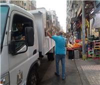 ضبط 509 حالات إشغال خلال حملات أيام العيد بأحياء الإسكندرية