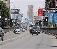 سيولة مرورية في الذروة الصباحية بشوارع الجيزة