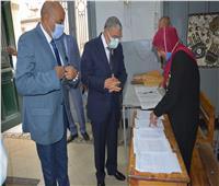 محافظ المنيا يتفقد سير امتحانات الثانوية العامة بعدد من اللجان
