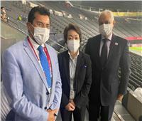 وزير الرياضة يلتقي رئيس اللجنة المنظمة لدورة الألعاب الأوليمبية بطوكيو