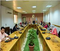 جامعة سوهاج تناقش مقترح إنشاء الوحدة الطبية الآمنة للمعنفات بالمستشفي الجامعي