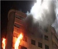 إخماد حريق اندلع داخل شقة سكنية بالطالبية دون إصابات