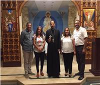 الأنبا باخوم يلتقي خدام أخوية قانا مصر